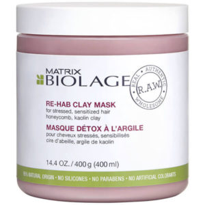 Boilage Raw rehab clay mask